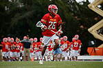 2017 March 25: Isaiah Davis-Allen #26 of Maryland Terrapins during a 15-7 win over the North Carolina Tar Heels at Fetzer Field in Chapel Hill, NC.