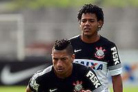 SÃO PAULO,SP, 27 Junho 2013 -  Romarinho durante treino do Corinthians no CT Joaquim Grava na zona leste de Sao Paulo, onde o time se prepara  para para enfrenta o Sao Paulo pelas finais da Recopa . FOTO ALAN MORICI - BRAZIL FOTO PRESS