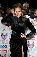 LONDON, UK. October 29, 2018: Caroline Flack at the Pride of Britain Awards 2018 at the Grosvenor House Hotel, London.<br /> Picture: Steve Vas/Featureflash