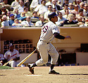 Atlanta Braves Felipe Alou (29) from his 1969 season during a game against the New York Mets Shea Stadium in New York.  Felipe Alou played for 17 years with 6 different teams and was a 3-time All-Star.(SportPics)
