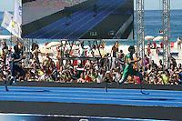 RIO DE JANEIRO; RJ; 31 DE MARÇO 2013 - Alan Fonteles vence a prova dos 150m de atletas paralímpicos no evento Mano a Mano na Praia do Leme com o tempo de 15s68. FOTO: NÉSTOR J. BEREMBLUM - BRAZIL PHOTO PRESS.