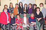 GOLF SOCIETY: Attending the Ballybeggan Ladies Golf Society committee meeting at the Grand hotel, Tralee on Friday seated l-r: Rebecca McCarthy, Geraldine O'Connor (president), Maureen Scannell, Phyllis Mason (captain), Breda Walshe and Kay Moloney. Back l-r: Maureen Scannell, Catherine Mitchell, Kathleen Burrows, Sharon Cahill, Mary O'Sullivan, Eleanor Dowd, Maire Baily and Mary O'Sullivan...