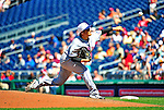 4 July 2010: New York Mets starting pitcher Hisanori Takahashi on the mound against the Washington Nationals at Nationals Park in Washington, DC. The Mets defeated the Nationals 9-5, splitting their 4-game series. Mandatory Credit: Ed Wolfstein Photo