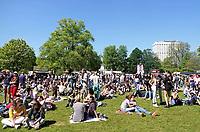 Nederland Rotterdam 2018. 5 mei.  Bevrijdingsfestival ZH in Het Park.  Foto Berlinda van Dam / Hollandse Hoogte