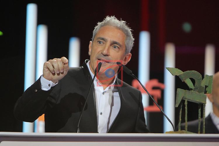 63 Premios Ondas.<br /> Gala de Entrega de los premios.<br /> Jon Sistiaga.