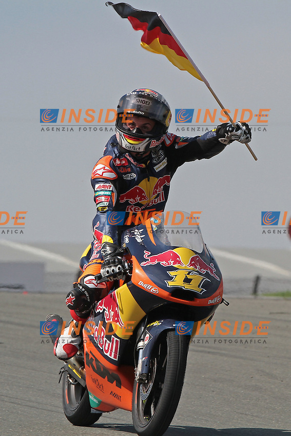 .08-07-2012 Sachsenring (GER).Motogp - moto3.in the picture: Sandro Cortese - Red bull KTM Ajo