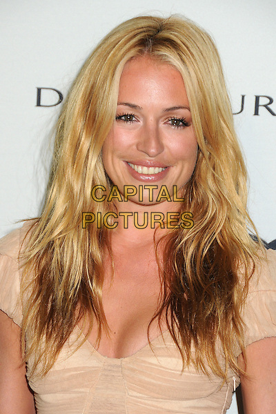 Cat Deeley.Audi and David Yurman Emmy Week 2011 Kick Off Party held at Cecconi's, West Hollywood, California, USA..September 11th, 2011.headshot portrait beige nude.CAP/ADM/BP.©Byron Purvis/AdMedia/Capital Pictures.
