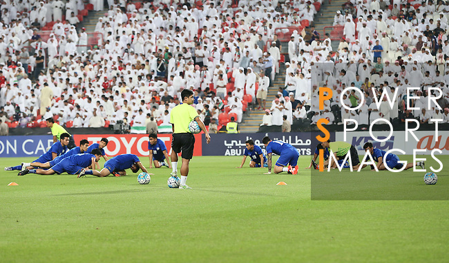 United Arab Emirates vs Thailand during the 2018 FIFA World Cup Russia Asian Qualifiers Final Qualification Round Group B match at Mohammad Bin Zayed Stadium on 06 October 2016, in Abu Dhabi, United Arab Emirates. Photo by Stringer / Lagardere Sports