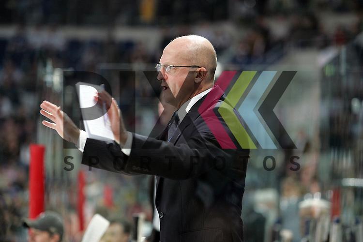 Mannheim 09.03.2008, Deutsche Eishockey Liga, Adler Mannheim - Krefeld Pinguine, Jiri Ehrenberger (Trainer Krefeld) <br /> <br /> Foto &copy; Rhein-Neckar-Picture *** Foto ist honorarpflichtig! *** Auf Anfrage in hoeherer Qualitaet/Aufloesung. Belegexemplar erbeten. Veroeffentlichung ausschliesslich fuer journalistisch-publizistische Zwecke. For editorial use only.