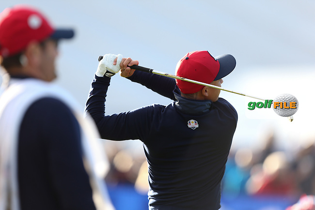 Rickie Fowler (USA) during the 2014 Ryder Cup from Gleneagles, Perthshire, Scotland. Picture:  David Lloyd / www.golffile.ie