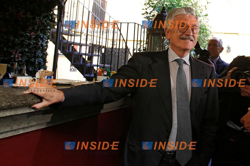 Massimo D'Alema<br /> Roma 12-10-2016. Ripetta. Incontro: 'Perch&eacute; NO - proposte alternative per una riforma realmente condivisa'.<br /> Foto Samantha Zucchi Insidefoto