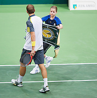 14-02-13, Tennis, Rotterdam, ABNAMROWTT, Thiemo de Bakker.