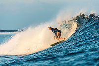 Namotu Island Resort, Nadi, Fiji (Sunday, May 29 2016): Rosy Hodge (ZAF) - The swell again today to 4'with very light Trade Winds  for most of the day.  <br /> There were  freesurf sessions at Cloudbreak before the Fiji Pro got underway and again in there afternoon when the contest was called off.<br /> Photo: joliphotos.com