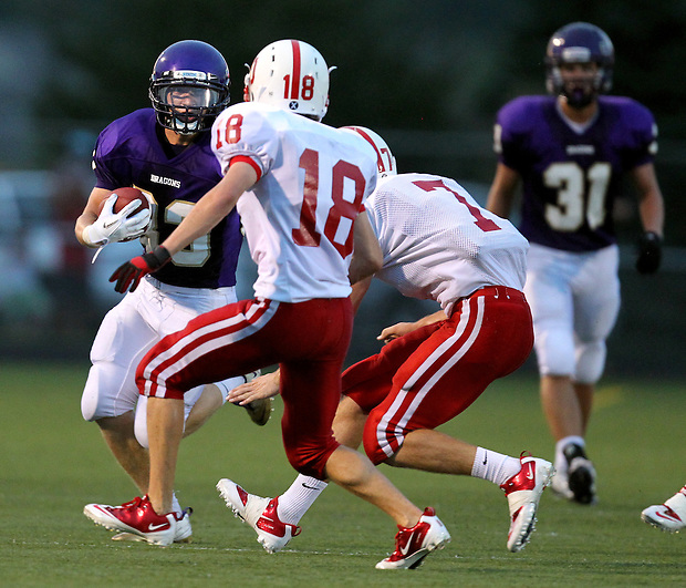 Johnston varsity football against Ottumwa, August 19, 2011 in Johnston.