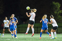 Allston, MA - Saturday Sept. 24, 2016: Samantha Mewis during a regular season National Women's Soccer League (NWSL) match between the Boston Breakers and the Western New York Flash at Jordan Field.