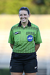 17 September 2016: Fourth Official Kaylib Robinson. The Duke University Blue Devils hosted the Boston College Eagles at Koskinen Stadium in Durham, North Carolina in a 2016 NCAA Division I Women's Soccer match. Duke won the game 3-2.