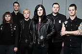Oct 29, 2016: CREEPER - Photosession in Paris France