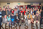 Newly elected TD Tom Fleming seated centre received a huge welcome at his celebration party in Danny Pats bar Rathmore on Saturday night