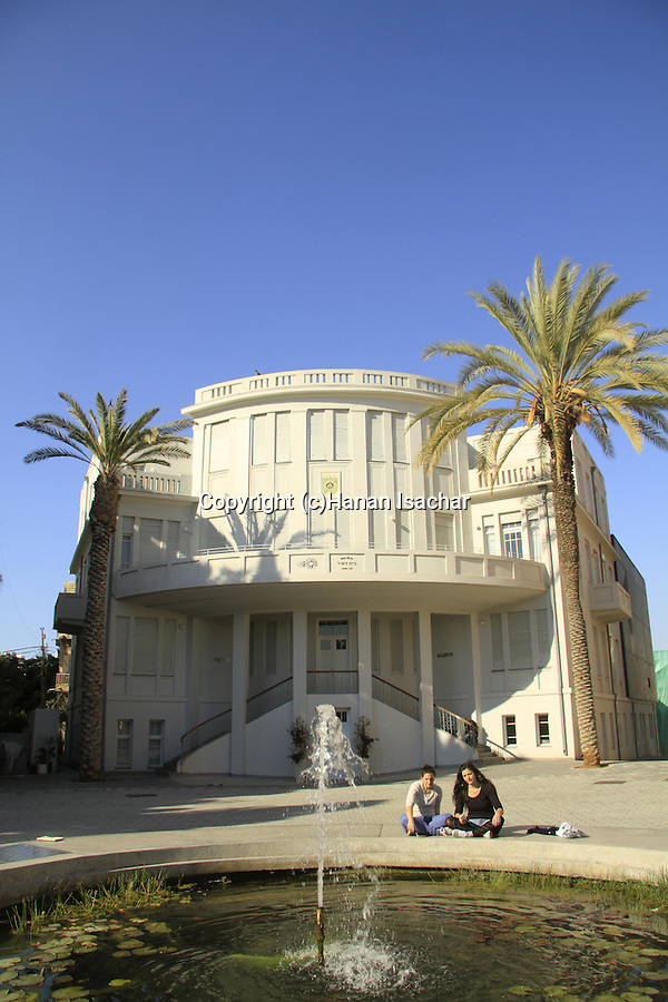 Israel, Tel Aviv's first city hall in Bialik square