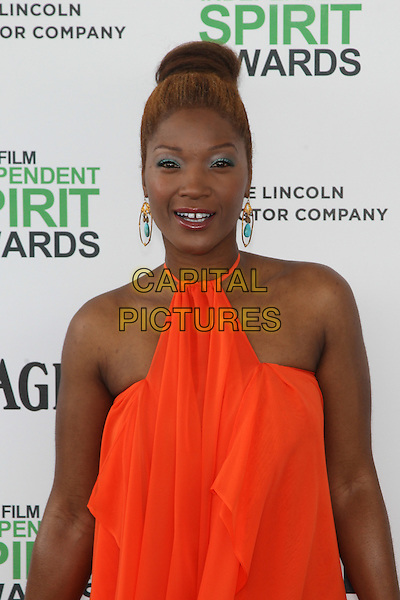 SANTA MONICA, CA - MARCH 1: Yolanda Ross attending the 2014 Film Independent Spirit Awards in Santa Monica, California on March 1st, 2014. Photo Credit: RTNUPA/MediaPunch<br /> CAP/MPI/RTNUPA<br /> &copy;RTNUPA/MediaPunch/Capital Pictures