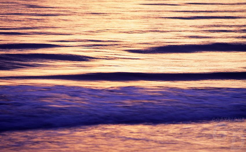 Water background of ocean waves