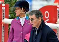 LUCIANA DINIZ, EDOUARD DE ROTHSCHILD - 1ER JUMPING INTERNATIONAL DU CHATEAU DE VERSAILLES - 05/05/2017 - VERSAILLES , FRANCE