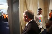 WARSAW, POLAND, JUNE 12, 2010:.Meeting of candidate for president, Jaroslaw Kaczynski with the youths helping him in the campaign. .(Photo by Piotr Malecki / Napo Images)..WARSZAWA, 12/06/2010:.Spotkanie kandydata na prezydenta Jaroslawa Kaczynskiego z wolontariuszami..Fot: Piotr Malecki / Napo Images.