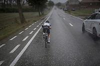 Johann Van Zyl (ZAF/Dimension Data) trying to bridge the gap with the race leaders ahead<br /> <br /> 12th Eneco Tour 2016 (UCI World Tour)<br /> Stage 7: Bornem › Geraardsbergen (198km)