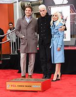 07 January 2019 - Hollywood, California - Bradley Cooper, Sam Elliott, Lady Gaga  . Sam Elliott Hand And Footprint Ceremony held at TCL Chinese Theatre. <br /> CAP/ADM/BT<br /> &copy;BT/ADM/Capital Pictures