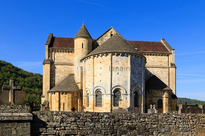 France, Dordogne (24), Cénac-et-Saint-Julien, église Notre-Dame-de-la-Nativité de Cénac // France, Dordogne, Cenac et Saint Julien, Notre Dame de la Nativite church