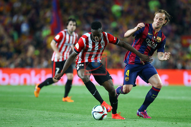 Final Campeonato de Espa&ntilde;a-Copa S.M. El Rey<br /> Athletic Club vs FC Barcelona: 1-3.<br /> I&ntilde;aki Williams vs Ivan Rakitic.