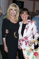 LOS ANGELES - AUG 21:  Loni Anderson, Cheryl Kagan at the Barbara Eden Tribute Exhibition Opening Night at the Hollywood Museum on August 21, 2019 in Los Angeles, CA