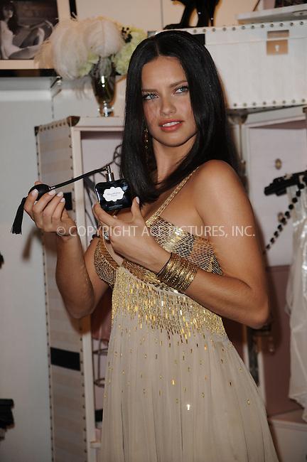 WWW.ACEPIXS.COM . . . . . ....May 9 2009, New York City....Model Adriana Lima launches the new Noir Collection at Victoria's Secret, Lexington Avenue on May 9, 2009 in New York City....Please byline: KRISTIN CALLAHAN - ACEPIXS.COM.. . . . . . ..Ace Pictures, Inc:  ..tel: (212) 243 8787 or (646) 769 0430..e-mail: info@acepixs.com..web: http://www.acepixs.com