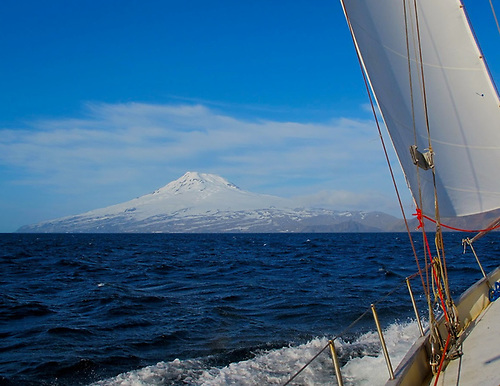 Beerenberg on Jan Mayen