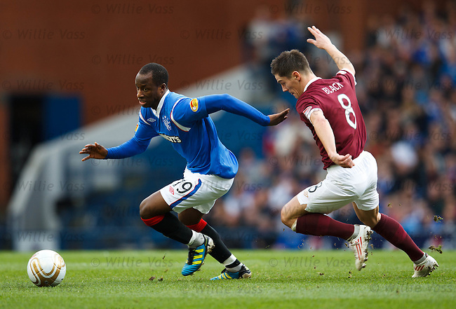 SOne Aluko and Ian Black