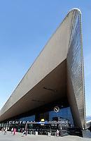 Het nieuwe Centraal Station in Rotterdam.