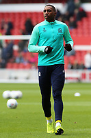 Blackburn Rovers' Amari'i Bell during the pre-match warm-up <br /> <br /> Photographer David Shipman/CameraSport<br /> <br /> The EFL Sky Bet Championship - Nottingham Forest v Blackburn Rovers - Saturday 13th April 2019 - The City Ground - Nottingham<br /> <br /> World Copyright © 2019 CameraSport. All rights reserved. 43 Linden Ave. Countesthorpe. Leicester. England. LE8 5PG - Tel: +44 (0) 116 277 4147 - admin@camerasport.com - www.camerasport.com