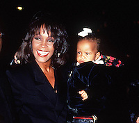 WHITNEY HOUSTON & Daughter Bobbi Kristina 1994 NYC By Jonathan Green