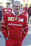 Maurizio Arrivabene in Paddock at Spanish Grand Prix . Barcelona-Catalunya track