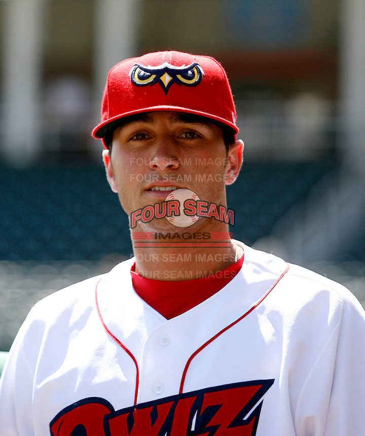 Jon Karcich of the Orem Owlz (2009 Pioneer League)..Photo by:  Bill Mitchell/Four Seam Images..