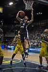 05.01.2020, EWE Arena, Oldenburg, GER, easy Credit-BBL, EWE Baskets Oldenburg vs Hamburg Towers, im Bild<br /> Bogdan RADOSAVLJEVIC (Hamburg Towers #15 ) Rickey PAULDING (EWE Baskets Oldenburg #23 ) Tyler LARSON (EWE Baskets Oldenburg #55 ) Philipp SCHWETHELM (EWE Baskets Oldenburg #33 )<br /> Foto © nordphoto / Rojahn