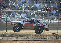 Apr 16, 2011; Surprise, AZ USA; LOORRS driver Ron Duncombe (4) during round 3 at Speedworld Off Road Park. Mandatory Credit: Mark J. Rebilas-.