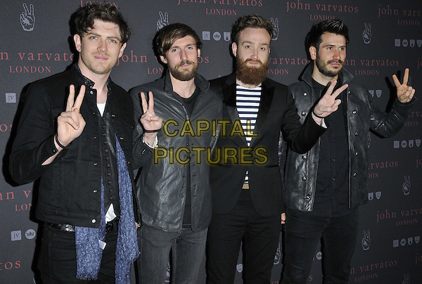 LONDON, ENGLAND - SEPTEMBER 03: Twin Atlantic attend the John Varvatos flagship store launch party, John Varvatos, Conduit St., on Wednesday September 03, 2014 in London, England, UK. <br /> CAP/CAN<br /> &copy;Can Nguyen/Capital Pictures