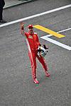 14.04.2018, Shanghai Audi International Circuit, Shanghai, 2018 FORMULA 1 HEINEKEN CHINESE GRAND PRIX, 12.04. - 15.04.2018<br /> im Bild<br />Poleposition f&uuml;r Sebastian Vettel (GER#5), Scuderia Ferrari<br /> <br /><br /> <br /> Foto &copy; nordphoto / Bratic