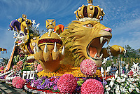 "Tournament of Roses Parade Floats Tournament Special Trophy - 2008, ""The Magic of Mardi Gras"" FTD"