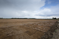 Construction of a new on farm irrigation reservoir   <br /> Picture Tim Scrivener 07850 303986<br /> &hellip;.covering agriculture in the UK&hellip;.