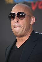 19 April 2017 - Hollywood, California - Vin Diesel. Premiere Of Disney And Marvel's &quot;Guardians Of The Galaxy Vol. 2&quot; held at the Dolby Theatre. <br /> CAP/ADM<br /> &copy;ADM/Capital Pictures