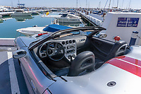 Shelby Series 1, sportscar, marina, Puerto Banus, Andalucia, Spain, 201903000506<br /> <br /> Copyright Image from Victor Patterson, 54 Dorchester Park, Belfast, UK, BT9 6RJ<br /> <br /> t: +44 28 9066 1296 (from Rep of Ireland 048 9066 1296)<br /> m: +44 7802 353836<br /> e: victorpattersonbelfast@gmail.com<br /> <br /> The use of any of my copyright images is subject to my Terms & Conditions. It is IMPORTANT that you familiarise yourself with them. They are available at my website, victorpatterson.com.<br /> <br /> None of my copyright images may be used on the Internet unless they are visibly watermarked, i.e. © Victor Patterson within the body of the image. My metadata, denoting my copyright must NOT be deleted. <br /> <br /> Web use is extra at currently recommended NUJ rates. Maximum permitted web size is<br />  400kb. <br /> <br /> Images must not be passed on to a third party - they are for the use of the authorised recipient only.
