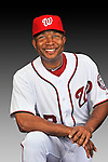 25 February 2011: Tony Beasley, Spring Training Instructor for the Washington Nationals, poses for his portrait on Photo Day at Space Coast Stadium in Viera, Florida. Mandatory Credit: Ed Wolfstein Photo