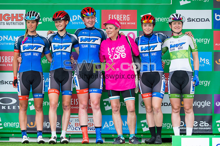 Picture by Alex Whitehead/SWpix.com - 11/06/2017 - Cycling - OVO Energy Women's Tour - Stage 5: The London Stage - WNT